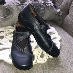 Wolky MaryJane Shoes Woman's 40